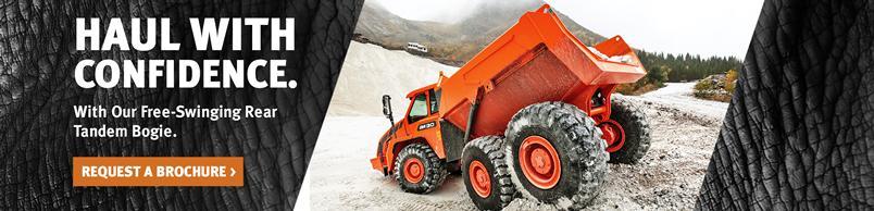 Doosan DA30-5 Articulated Dump Truck