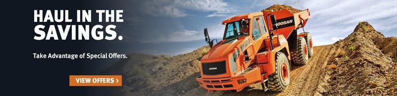 Doosan DA40-5 Articulated Dump Truck