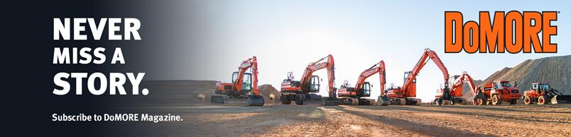 Doosan family line up of machines.