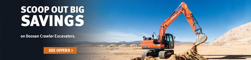 Doosan DX140LC-5 Crawler Excavator
