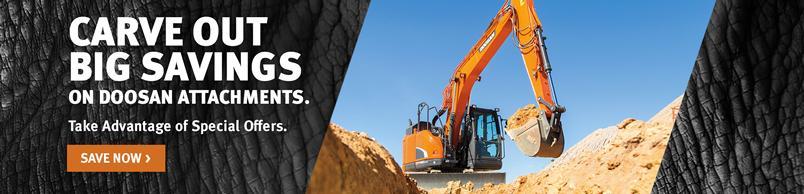 Doosan DX140LCR-5 Crawler Excavator