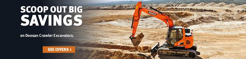Doosan DX140LCR-5 Doosan Crawler Excavator