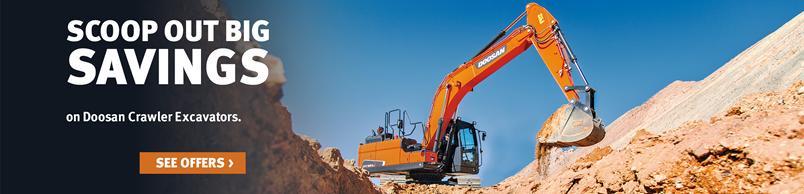 Doosan DX180LC-5 Crawler Excavator