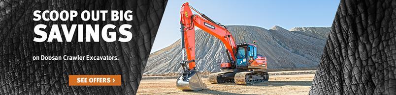 Doosan DX225LC-5 Crawler Excavator