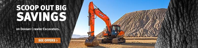 Doosan DX255LC-5 Crawler Excavator