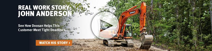 Doosan Crawler Excavator Customer Testimonial