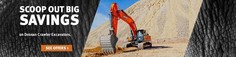 Doosan DX420LC-5 Crawler Excavator