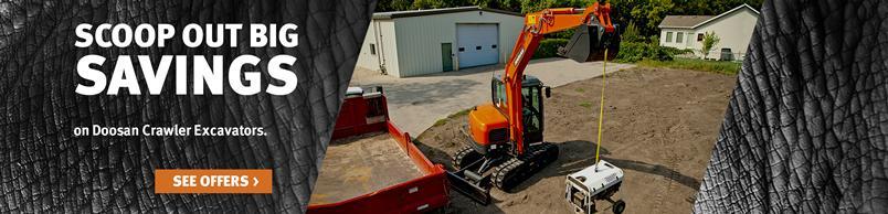 Doosan DX63-3 Crawler Excavator