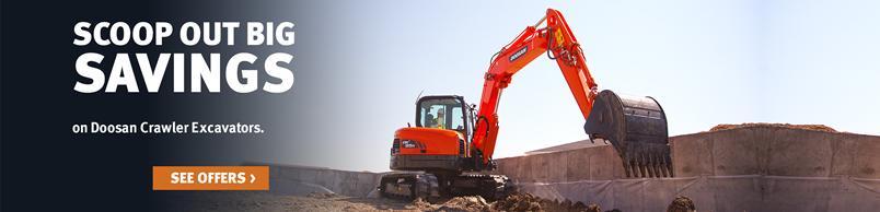 Doosan DX85R-3 Crawler Excavator: Doosan Infracore Constructio Equipment