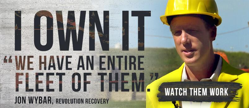 I Own It. We have an entire fleet of them. Jon Wybar Revolution Recovery