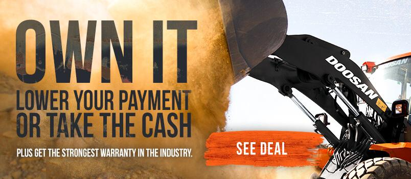 Own It. Lower your payment or take the cash plus get the strongest warranty in the industry.