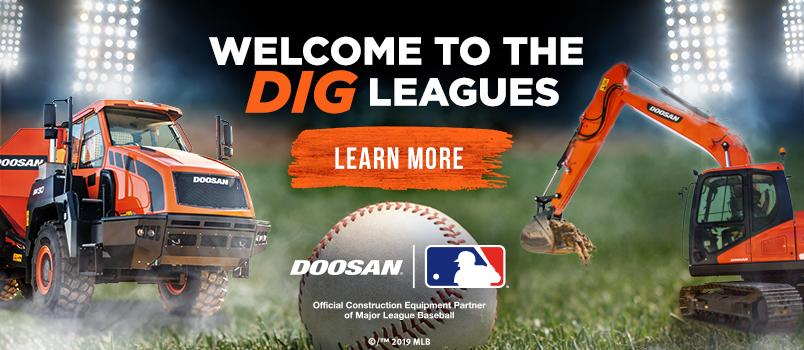 Welcome to the dig leagues.