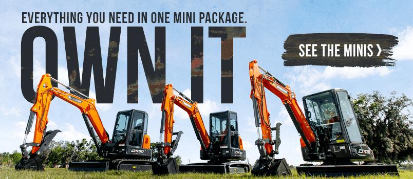Everything you need in one mini package. Own It. See the Minis>