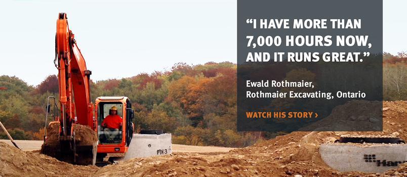 Doosan crawler excavator customer testimonial.