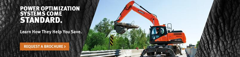 Doosan DX190W-5 Wheel Excavator