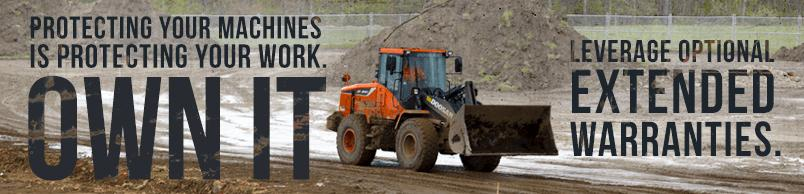Protecting your machines is protecting your work. Own it. Leverage optional extended warranties.