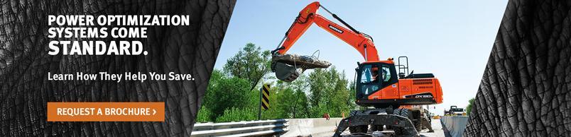 Doosan DX190W-5 Wheel Excavator